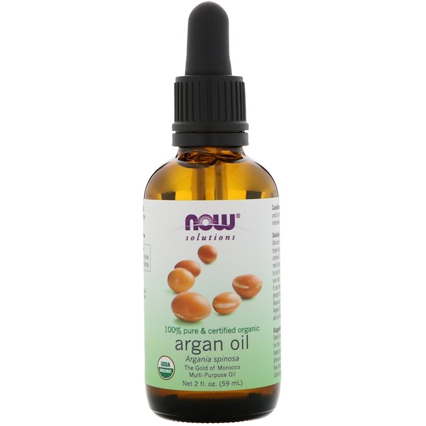 Now Foods, Aceite de argán orgánico de 59 ml