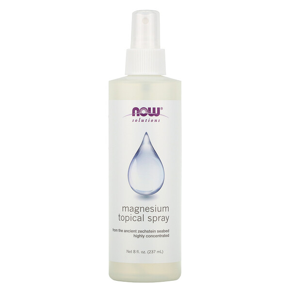 Now Foods, Magnesium Topical Spray, 8 fl oz (237 ml)