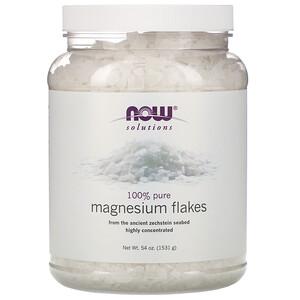 Now Foods, Solutions, Magnesium Flakes, 100% Pure, 3.37 lbs (1531 g) отзывы покупателей