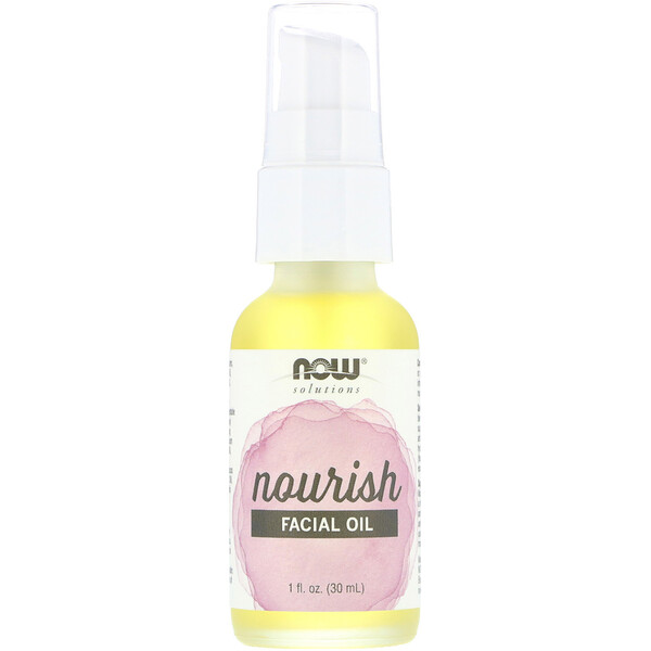 Now Foods, Solutions, Facial Oil, Nourish, 1 fl oz (30 ml)
