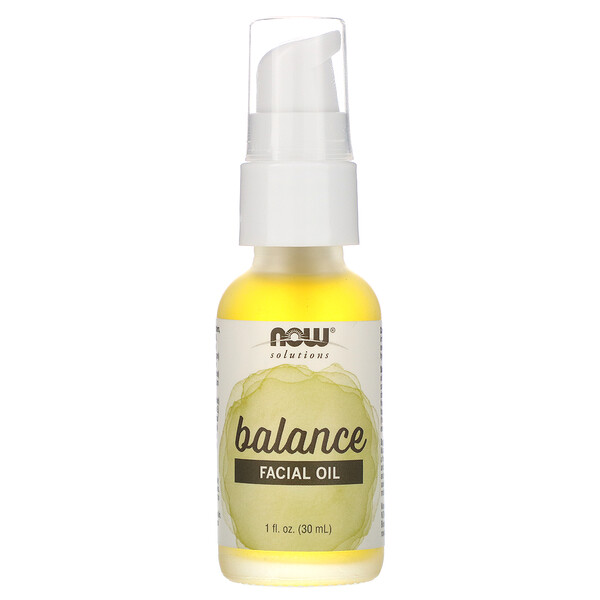 Solutions, Facial Oil, Balancing, 1 fl oz (30 ml)