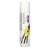 Now Foods, Solutions, complètement embrassable, baume bio pour les lèvres, Vanilla, 0.15 oz (4.25 g)