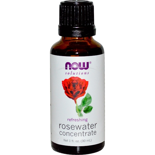 Now Foods, Rosewater Concentrate, 1 fl oz (30 ml) (Discontinued Item)