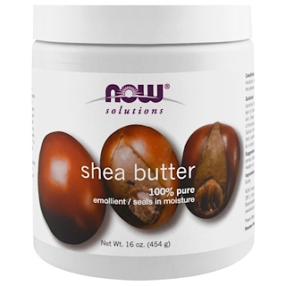 Now Foods, Solutions, Shea Butter, 16 fl oz (454 g)