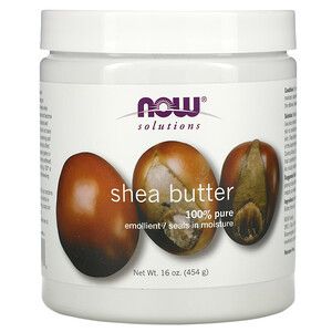 Now Foods, Solutions, Shea Butter, 16 fl oz (454 g) отзывы покупателей