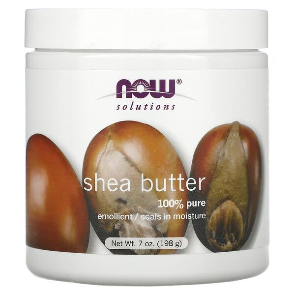Solutions, Shea Butter, 7 fl oz (198 ml)