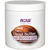 Now Foods, Solutions, Cocoa Butter, with Jojoba Oil, 6.5 fl oz (192 ml)