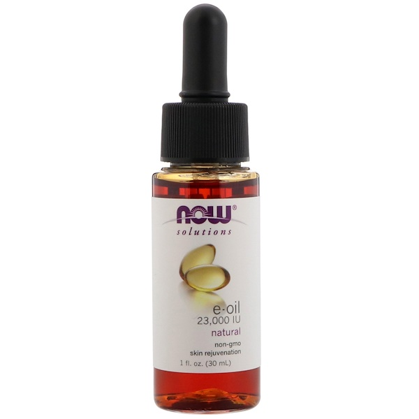 Now Foods, E-Oil, 23,000 IU, 1 fl oz  (30 ml)