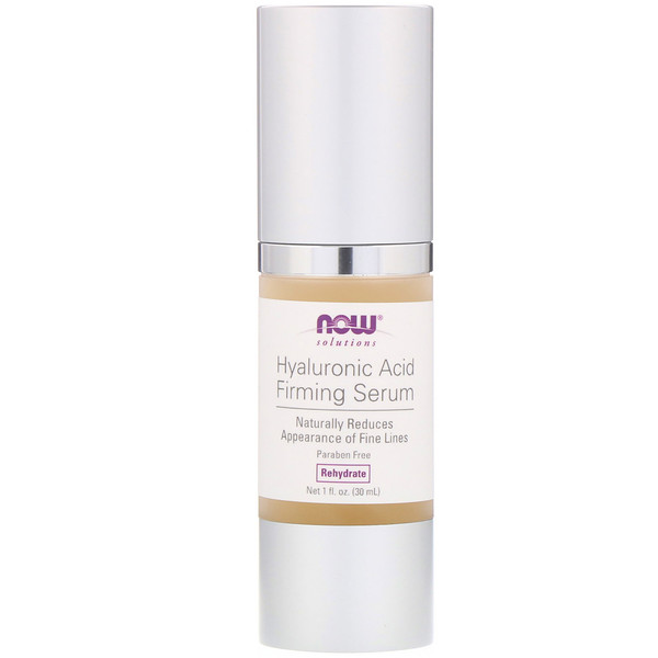 Solutions, Hyaluronic Acid Firming Serum, 1 fl oz (30 ml)