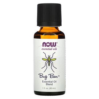 Now Foods, Essential Oils, Bug Ban, 1 fl oz (30 ml)