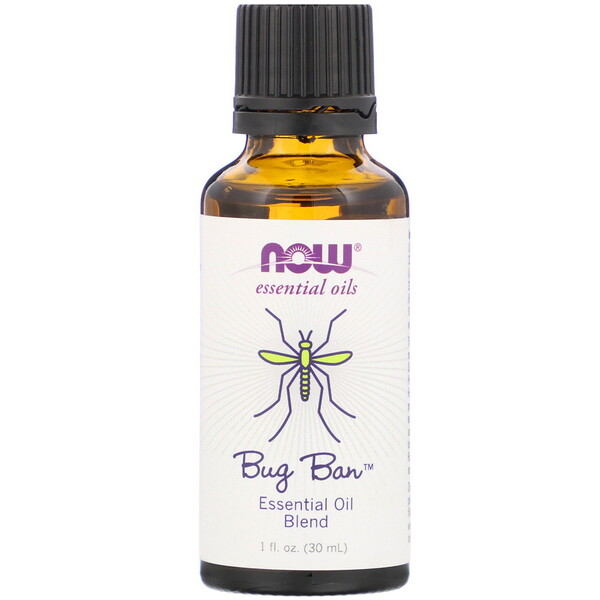 Essential Oils, Bug Ban, 1 fl oz (30 ml)