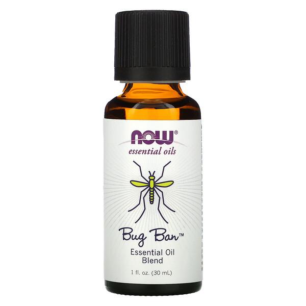 Essential Oils, Bug Ban, 1 fl oz (30 ml)