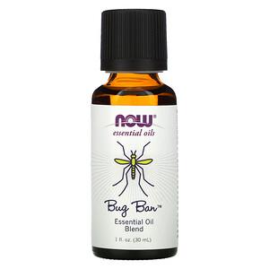 Now Foods, Essential Oils, Bug Ban, 1 fl oz (30 ml) отзывы