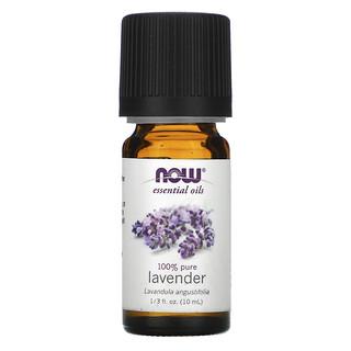 Now Foods, Essential Oils, Lavender, 1/3 fl oz (10 ml)