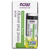 Now Foods, Essential Oils, Mind That Energy Roll-On, 1/3 fl oz (10 ml)