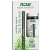 Now Foods, Roll-on d'huile de Tea Tree biologique, 10 ml