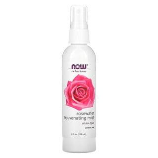 Now Foods, Solutions, Rosewater Rejuvenating Spray, 4 fl oz (118 ml)