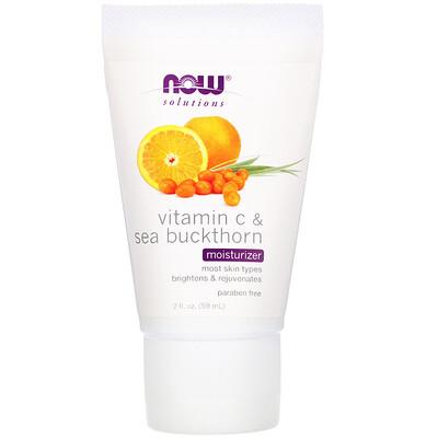 Solutions, увлажняющее средство, витамин С и облепиха, 59 мл (2 жидких унции)