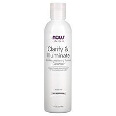 Now Foods, 溶液,Clarify & Illuminate 清潔劑,8 液量盎司(237 毫升)