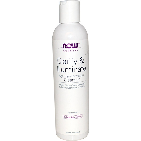 Solutions, Clarify & Illuminate Cleanser, 8 fl oz (237 ml)