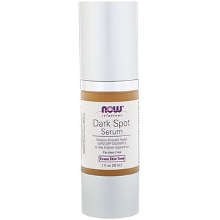 Now Foods, Solutions, Serum für dunkle Flecken, 1 fl oz (30 ml)