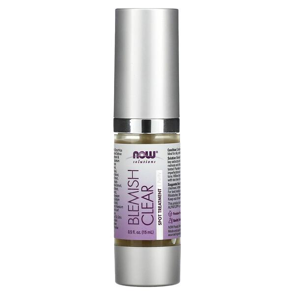 Solutions, Blemish Clear, Spot Treatment, Purify, 0.5 fl oz (15 ml)