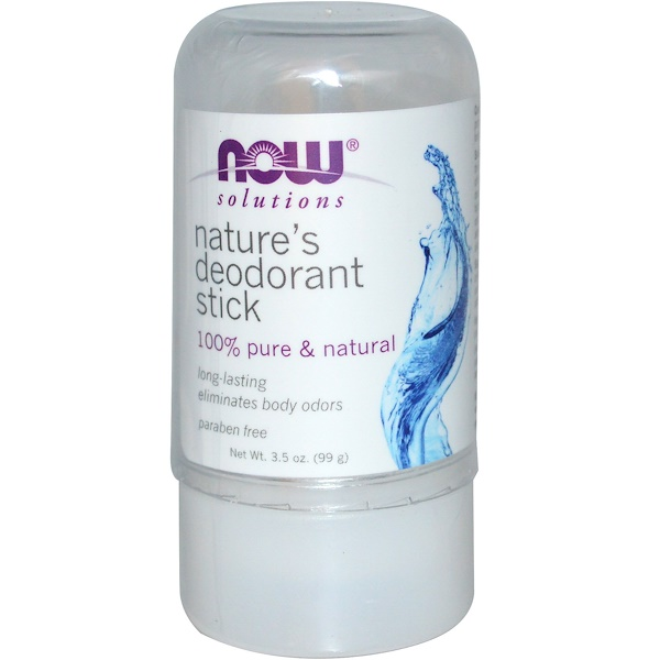 Now Foods, Nature's Deodorant Stick, 3.5 oz (99 g)