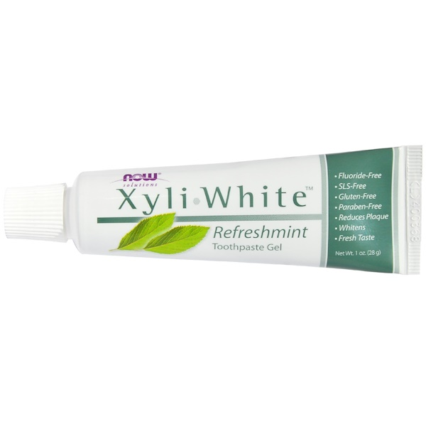 Now Foods, XyliWhite Toothpaste Gel, Refreshmint, 1 oz (28 g) (Discontinued Item)