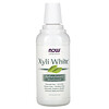 Now Foods, Enjuague bucal Xyliwhite, sabor Refreshmint, natural y sin flúor, 16 fl oz (473 ml)