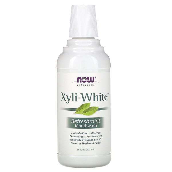 Enjuague bucal Xyliwhite, sabor Refreshmint, natural y sin flúor, 16 fl oz (473 ml)