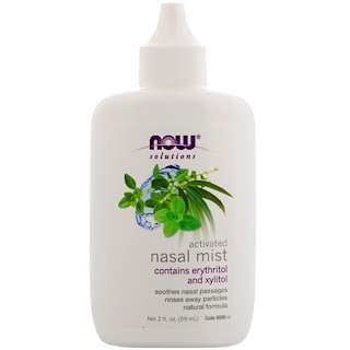 Now Foods, Solutions, Aktiviertes Nasenspray, 59 ml