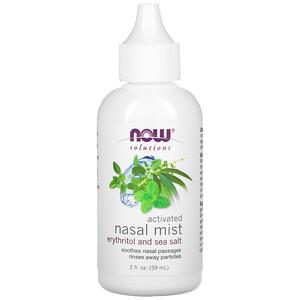 Now Foods, Solutions, Activated Nasal Mist, 2 fl oz (59 ml) отзывы