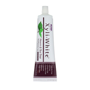 Now Foods, Solutions, XyliWhite, Toothpaste Gel, Neem & Tea Tree, 6.4 oz (181 g) отзывы покупателей