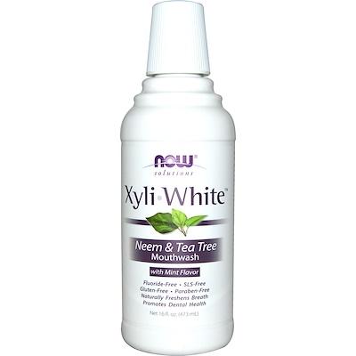 Xyliwhite Mouthwash, Neem & Tea Tree, 16oz