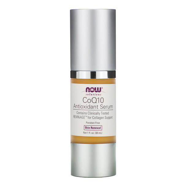Now Foods, Solutions, CoQ10 Antioxidant Serum, 1 fl oz (30 ml)