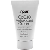 Solutions CoQ10 Antioxidant Cream Now Foods 2 oz Cream Butternut Bark Cream (2 oz, ZIN: 514572)