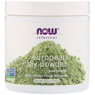 Now Foods, Solutions, European Clay Powder, 6 oz (170 g)