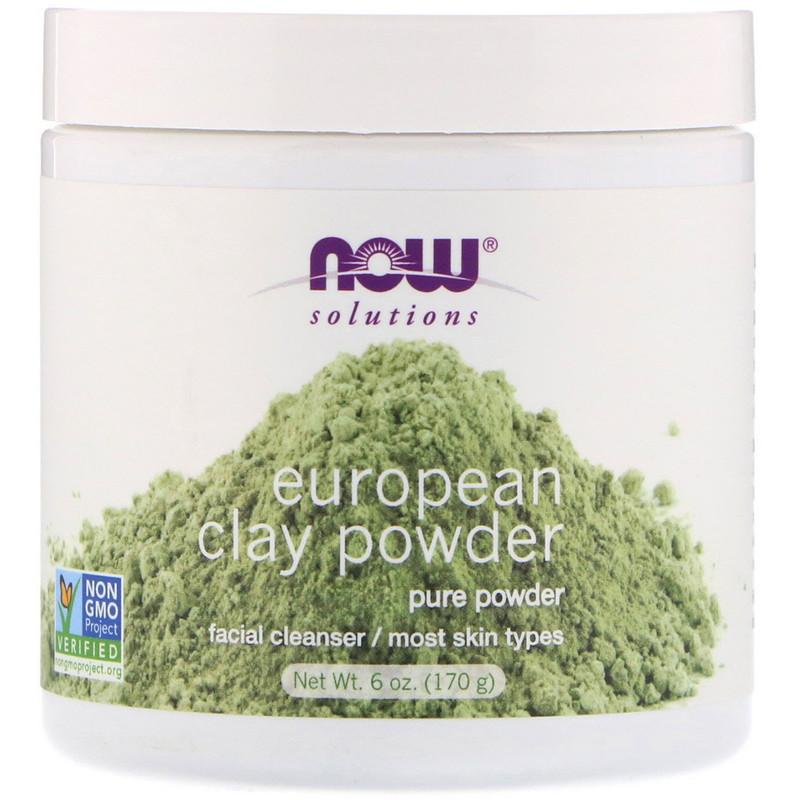 Solutions, European Clay Powder, 6 oz (170 g)