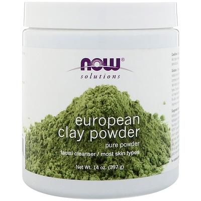 Купить Solutions, European Clay Powder, 397 г (14 унций)