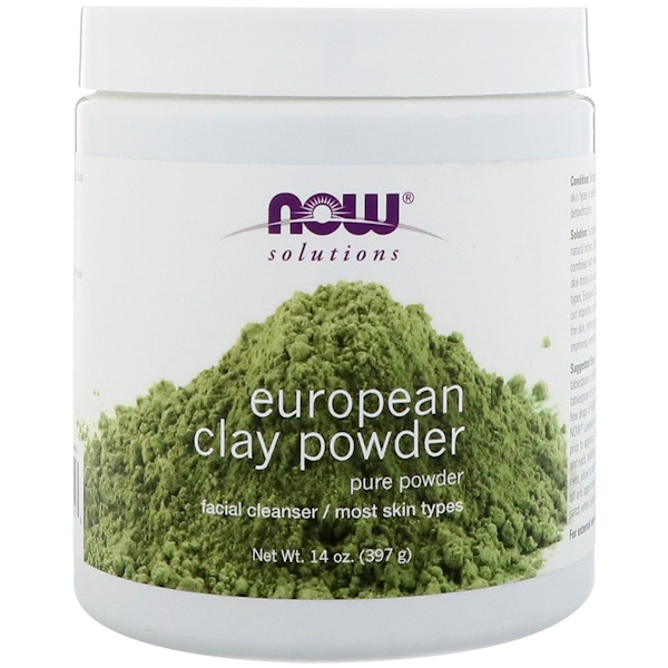 Solutions, European Clay Powder, 14 oz (397 g)