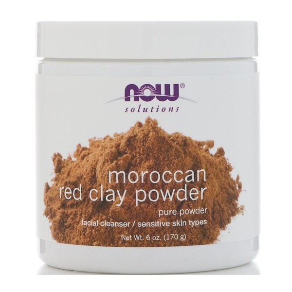 Solutions, Moroccan Red Clay Powder, 6 oz (170 g)