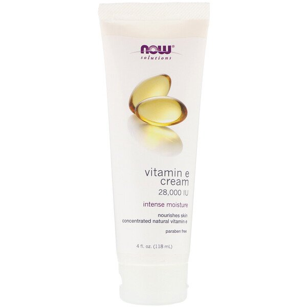 Solutions, Vitamin E Cream, 28,000 IU, 4 fl oz (118 ml)