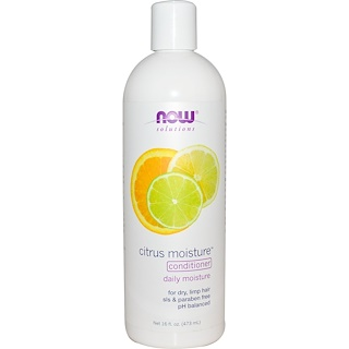 Now Foods, Solutions, Citrus Moisture Conditioner, 16 fl oz (473 ml)