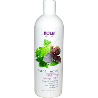 Now Foods, Solutions, Herbal Revival Conditioner, 16 fl oz (473 ml)