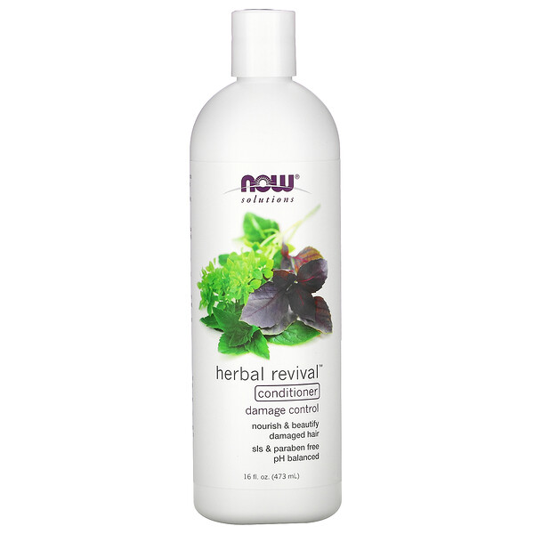 Solutions, Herbal Revival Conditioner, 16 fl oz (473 ml)