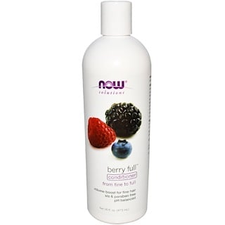 Now Foods, Solutions, Berry Full Conditioner, 16 fl oz (473 ml)