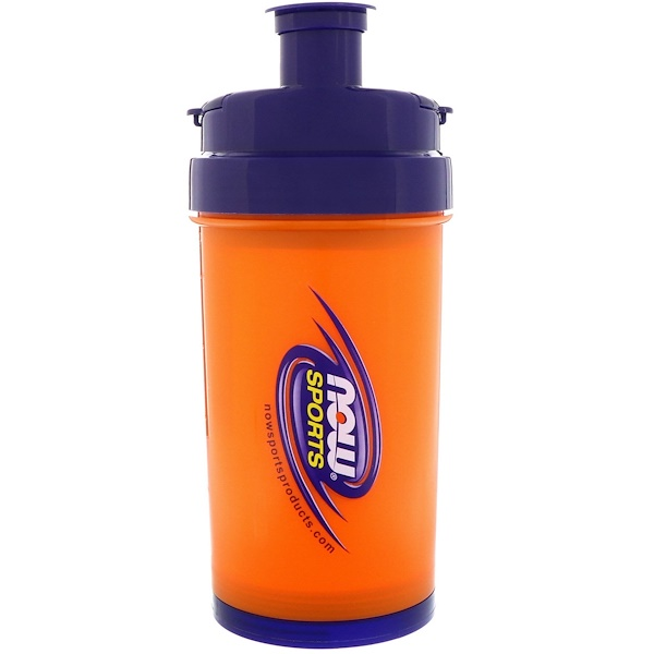 Now Foods, Sports, 3 in 1 Sports Shaker Bottle, 25 oz