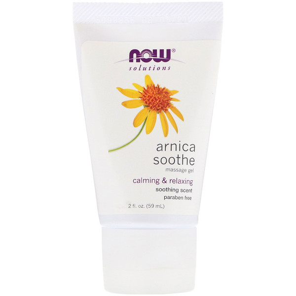 Now Foods, Solutions, Arnica Soothe Massage Gel, 2 fl oz (59 ml)