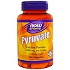 Now Foods, ピルビン, 1200 mg, 100 Capsules (Discontinued Item)