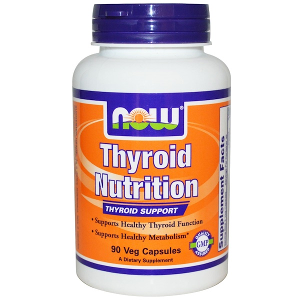 Now Foods, Thyroid Nutrition, 90 Veggie Caps (Discontinued Item)